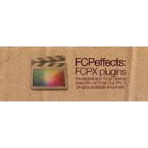 Fcp - Final Cut Pro X - Plugins E Efeitos