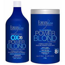 Kit Descolorante Forever Liss Power Blond - 2 Itens
