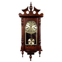 Relógio De Parede Novo A Cordas 80 Cm Carrilhão Herweg 5352