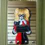 Porta Chave Placa Decorativa Arlequina Batman Dc Arkham Hq