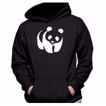 Blusa Panda Blusa De Frio Casaco