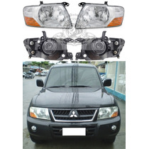 Farol Mitsubishi Pajero Full De 2004/2007 Novo Lado Esquerdo