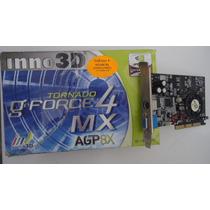 Placa Video Geforce4 Mx440-8x 64mb 128bit Ddr Sdram Tv+ddr