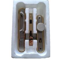 Fechadura Pado Externa Porta De Madeira 55mm Latão Patinado
