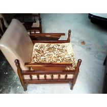 Sofa Antigo De Madeira Cada Unidade