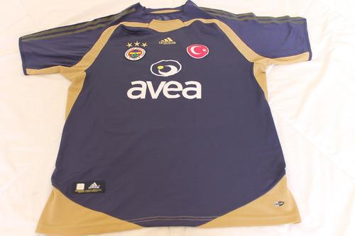 cd1fc40035037 Camisa Fenerbahce  3 Roberto Carlos Away 2004-05 adidas Rara