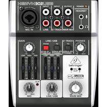 Mesa De Som Interface Behringer Xenyx 302 Usb - Ms0009