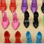 Kit 40 Sapatos Para Boneca Barbie - Sandália, Sapato, Salto