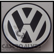 Calota Calotinha Roda Esportiva Scorro Volkswagen 56mm -1 Pç