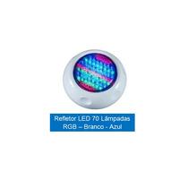 Led Em (abs) Rgb Rosca 70 Lâmpadas P/ Piscina (fibra/vinil)