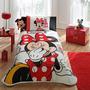 Disney Minnie Mouse Patisserie Jogo De (piquet) Cama / Licen