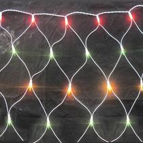 Rede Natal 160 Led 110v 8 Funções Colorido 2,2mx1,6m