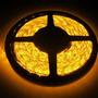 Fita Led Automotiva Luz Amarela Rolo De 5mts 300 Leds