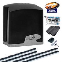 Kit Motor Portão Eletrônico Deslizante Ppa Dz Rio 1/4hp 220v