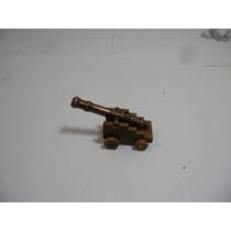 4 Canhão Miniaturas Para Navio Feita Em Metal