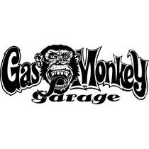 Adesivo Gas Monkey Garage 20x8cm Carros Pickups Caminhão
