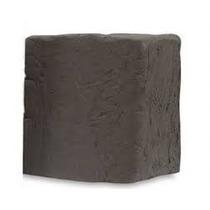 Argila Escolar Escura Pacote C/ Aproximadamente 1kg