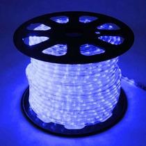Mangueira Luminosa Led Alto Brilho 110v Azul 1 Metro