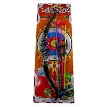 Brinquedo Arco E Flecha De Plástico-archery-caixa 12 Unidad