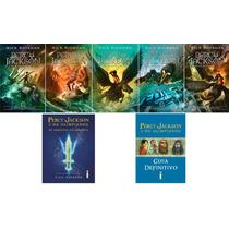 Coleção Percy Jackson & Os Olimpianos Nova Capa (7 Livros) #