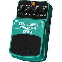 Pedal Bass Limiter Enhancer Ble400 - Behringer P/ Baixo