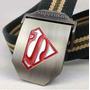 Cinto Com Fivela De Metal - Cinto Do Super Homem - Superman