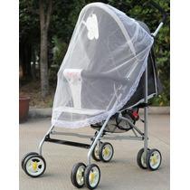 Tela Mosquiteiro Para Carrinhos De Bebê - Rede De Mosquitos