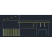 Planta Executiva Projeto Residencial Cod: Casa 009