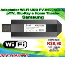Acessório Adaptador Wi-fi Usb Fv-n600abgn Tv Blu-ray Samsung
