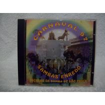 Cd Sambas De Enredo- Carnaval 1997- São Paulo