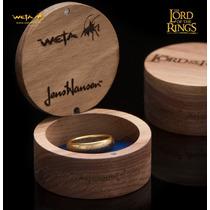 One Ring - O Um Anel Senhor Dos Anéis C/runas Original Weta