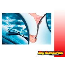 Palheta De Silicone / Limpador Para-brisa Polo Sedan / Hatch
