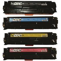 Kit 4 Toner Impressora Laser Hp Cp1215 M1312 M1415 M251 M276