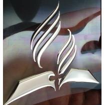 Adesivo Resinado Logo Marca Adventista Carro Moto Vidro