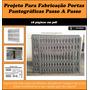 Projeto Para Fabricação Portas Pantográficas Passo A Passo