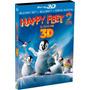 Blu-ray 3d E 2d + Cópia Digital Happy Feet 2 O Pinguim Luva