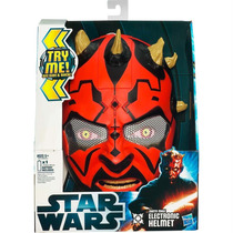 Máscara Star Wars Darth Maul Com Som Original Hasbro