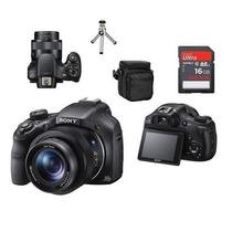 Câmera Sony Hx400 Hx400v Gps Wifii+16gb/bolsa+tripé+alça