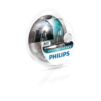 Lâmpada Philips X-treme Vision H1 3350k 55w 12v Genuína