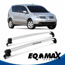 Rack Teto Eqmax New Wave Nissan Livina 10/14 Prata - Livina