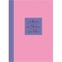 A Bíblia Da Mulher Que Ora (bicolor Azul E Rosa)