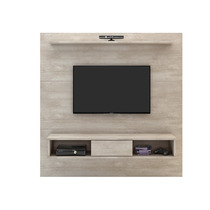 Painel Tv Sala Com Nicho 160cm Incolar Icon A271 - Alamo