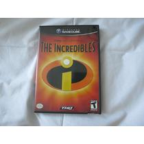 Jogo The Incredibles Disney Pixar C/manual Game Cube