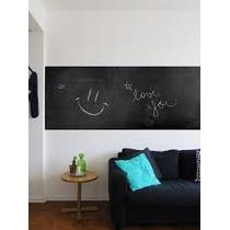 Adesivo Decorativo Infantil Quadro Negro Lousa 2,00m X 50cm