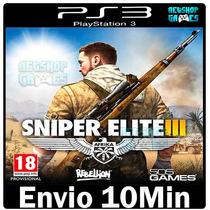 Sniper Elite 3 [ Ps3 Play3 Psn ** Português ** Baixe Agora ]
