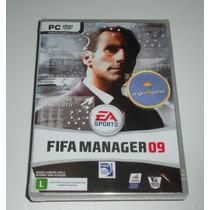 Fifa Manager 09 | Futebol | Jogo Pc | Produto Original