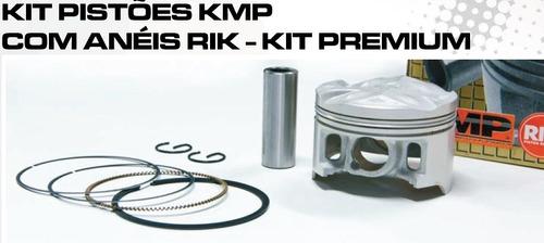 Kit Pistao C/anel Rik Premium Cg 125 1992 A 1999 Xlr 125 9