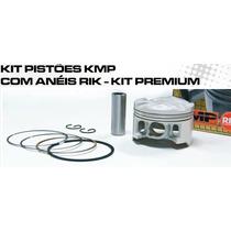Kit Pistao C/anel Rik Premium Cg 125 92 A 99 2.50 Ou 3.00mm