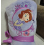 Manta P/ Nene Criança Princesa Sofia Disney No Br 150 Cm
