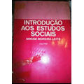 Introdução Aos Estudos Sociais-miriam Moreira Leite